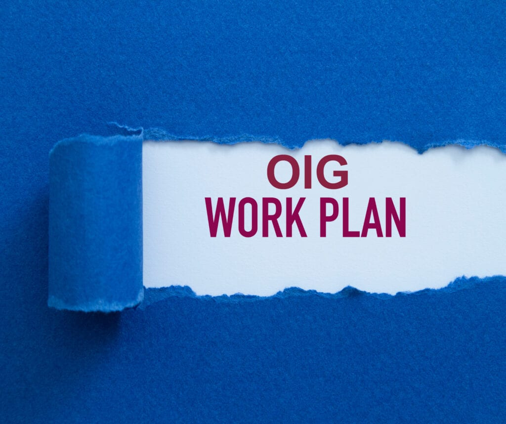 OIG Workplan