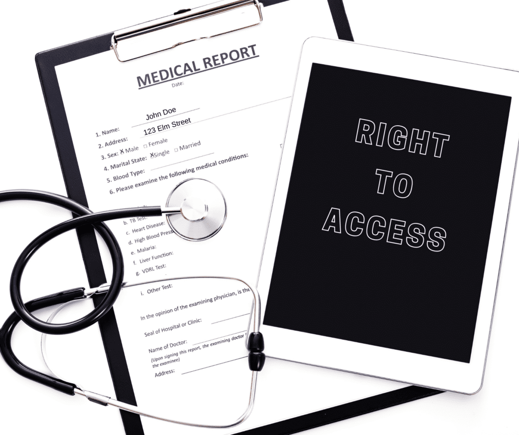 Medical record access