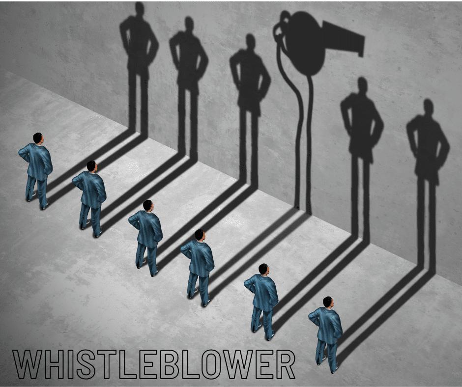 Whistle blower kickback
